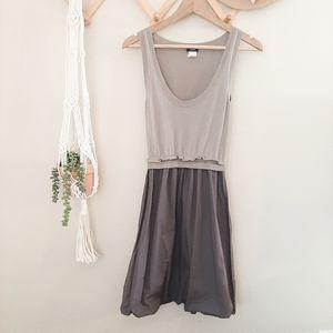J Crew grey knit sleevless dress
